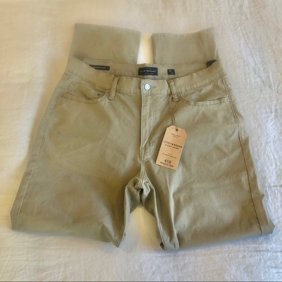 Men's Lucky Brand Sand athletic-Slim Jeans 36x32